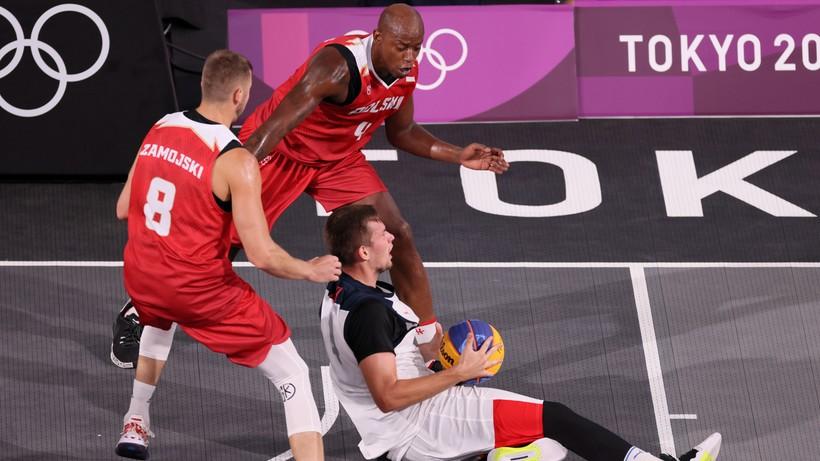 Tokio 2020: Polscy koszykarze 3x3 z trzecią porażką
