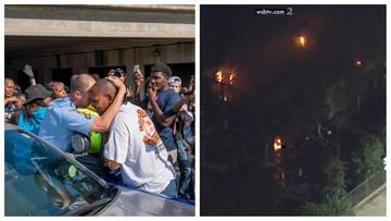 Policjant z Atlanty zastrzelił Afroamerykanina. W odwecie protestujący spalili restaurację [WIDEO]