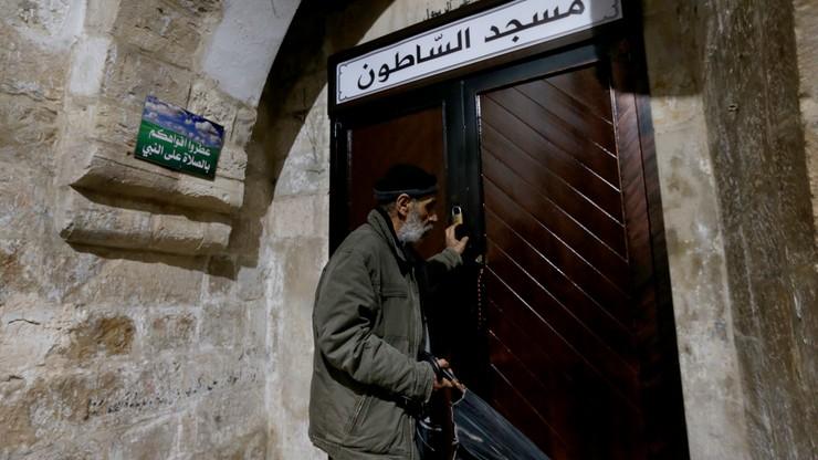 Autonomia Palestyńska. Bazylika Bożego Narodzenia zamknięta i poddana dezynfekcji