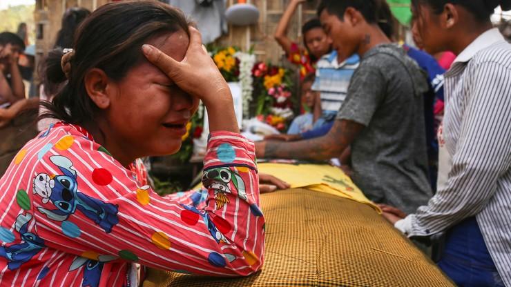 Tysiące aresztowanych, setki zabitych. Birmański reżim rozprawia się z opozycją