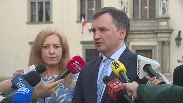 Ziobro: sprawa wniosku do TK była przedmiotem kilku spotkań, m.in. z udziałem premiera