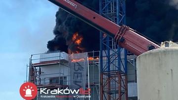 Pożar w Krakowie. Podano przyczynę
