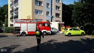 Wybuch w bloku w Poznaniu. Upadła butla z tlenem do nurkowania
