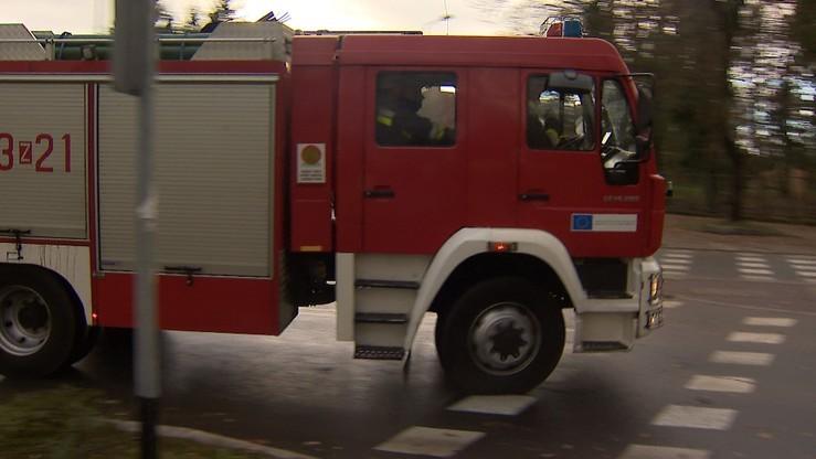 Ewakuacja centrum handlowego na Mazowszu po wycieku gazu