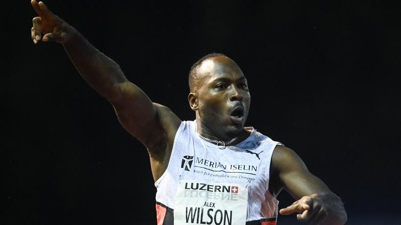 Szwajcar Alex Wilson pobił rekord Europy w biegu na 100 m
