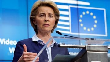 """Von der Leyen zabrała głos ws. protestów w Polsce. """"Silne prawa kobiet to atut"""""""