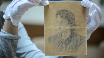 Rysunek więźniarki Majdanka trafił do muzeum. Został odnaleziony we Francji