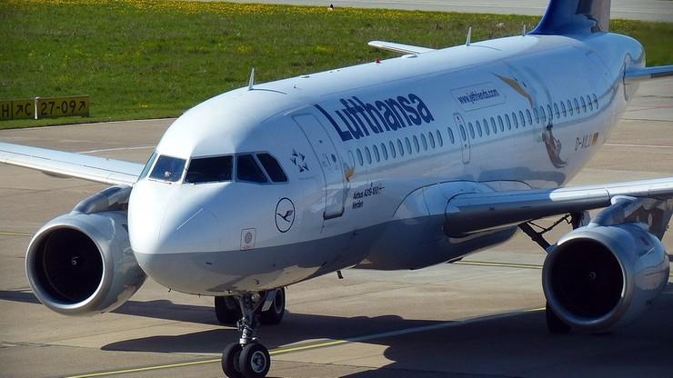 Samolot Lufthansy musiał lądować w Jasionce. Problemy z podwoziem