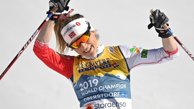 Pekin 2022: Therese Johaug planuje po igrzyskach roczną przerwę na ciążę