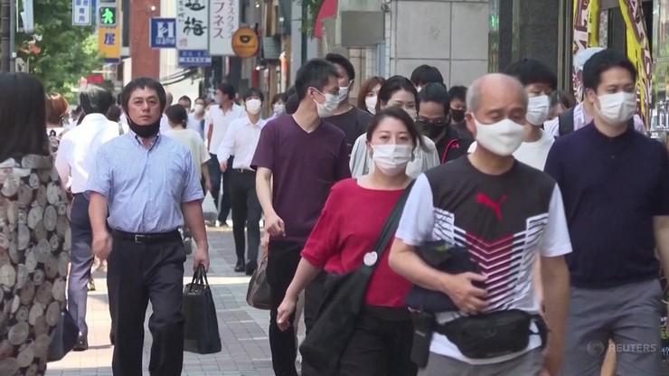 Czwarta fala w Japonii. Zakażeń więcej niż w poprzednich falach