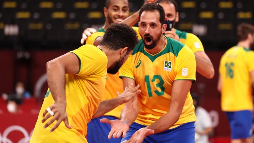 Tokio 2020: Brazylia ograła gospodarzy w ćwierćfinale turnieju siatkarzy