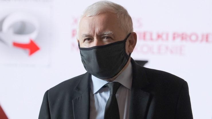 """""""Nie damy się terroryzować pieniędzmi"""". Kaczyński o naciskach ze strony UE"""