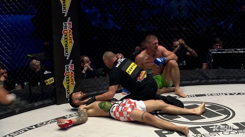 KSW 64: Daniel Rutkowski brutalnie znokautował Filipa Pejicia (WIDEO)