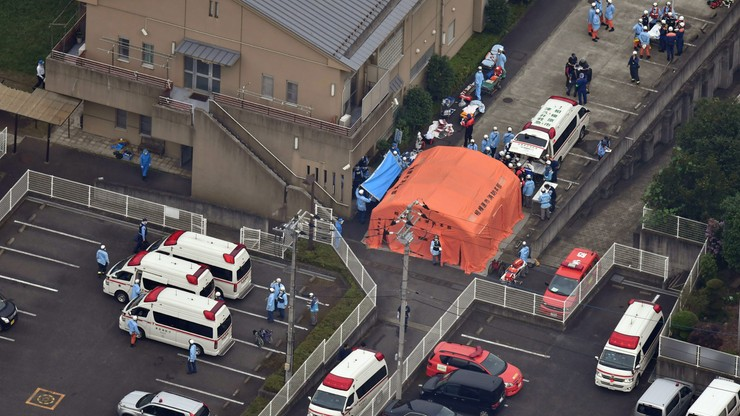Masakra w Japonii. Nożownik zaatakował ośrodek dla niepełnosprawnych