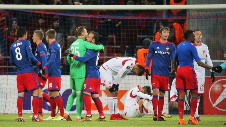 Liga Mistrzów: CSKA Moskwa w fazie grupowej zagra na Łużnikach
