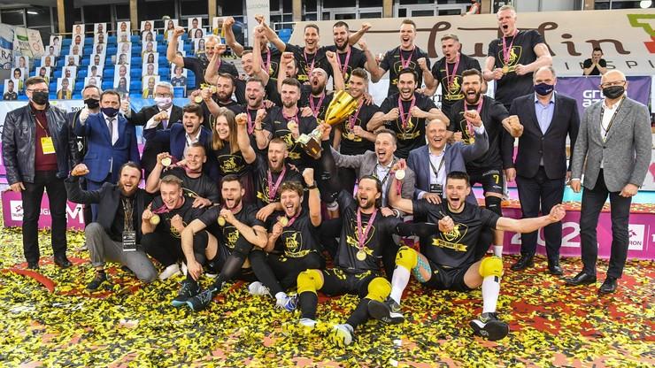 TAURON 1. Liga: Lublin był gotowy na awans. W hali czekały czerwone dywany