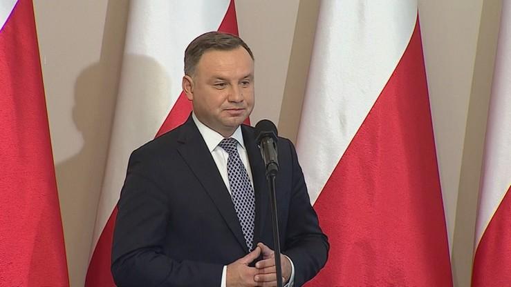 Prawie połowa Polaków zadowolona z pracy prezydenta. Sondaż Kantar