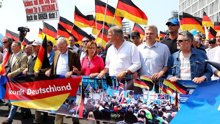 """Demonstracja AfD w Berlinie. """"Żadnego islamu w Niemczech"""""""
