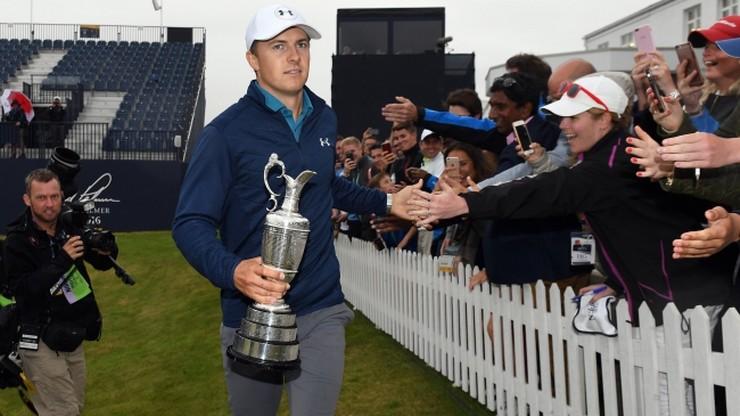 Spieth najlepszy w golfowym British Open