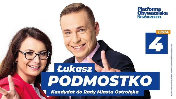 Ostrołęka: kandydat na radnego, skazany prawomocnym wyrokiem, zrezygnował ze startu