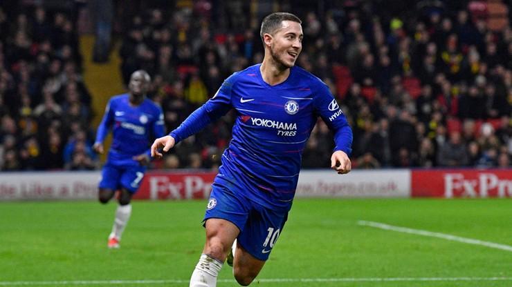 Chelsea lepsza od Watford. Jubileusz Hazarda