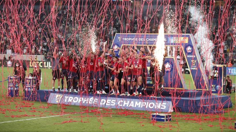Superpuchar Francji dla Lille po zwycięstwie nad PSG