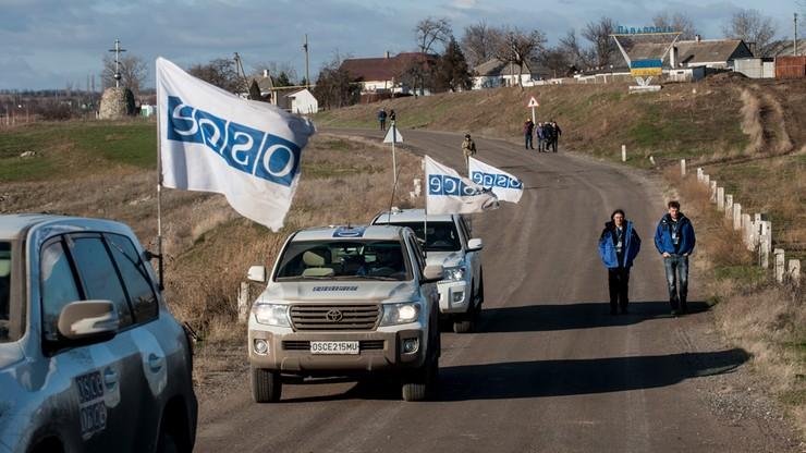 OBWE zawiesza misję w Donbasie