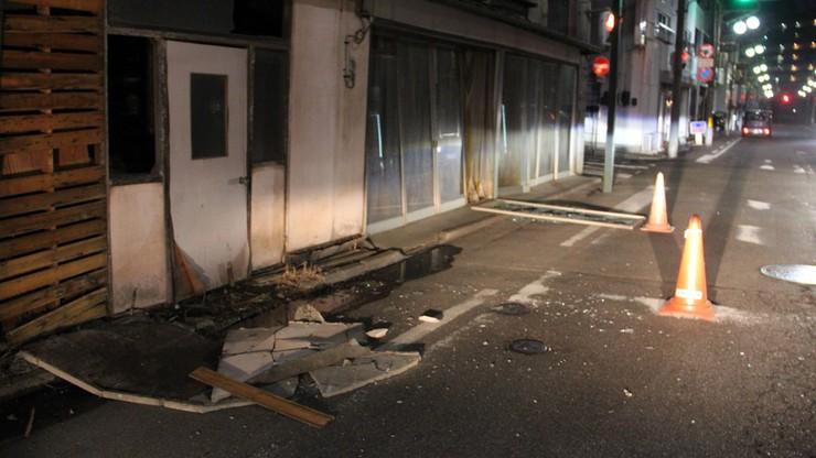Trzęsienie ziemi w Japonii. Wstrząsy odczuwalne były w Tokio