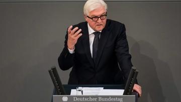 Steinmeier żąda od Trumpa jasnego stanowiska ws. polityki zagranicznej