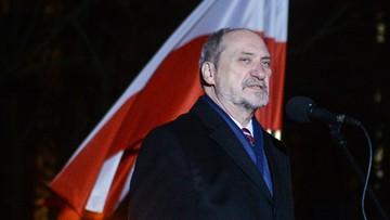 Macierewicz: powstanie styczniowe jest źródłem polskiej niepodległości i wzorem patriotyzmu