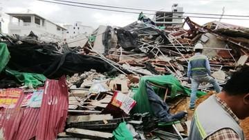 Runął 6-piętrowy budynek w Kambodży. Pod gruzami zginęli robotnicy