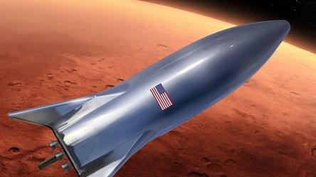 SpaceX ukończyło Starhoppera. Elon Musk pokazał prototyp statku Starship na zdjęciu