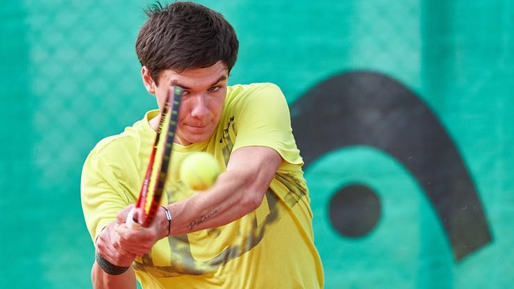 Challenger w Nottingham: Kamil Majchrzak - Denis Kudla. Relacja na żywo