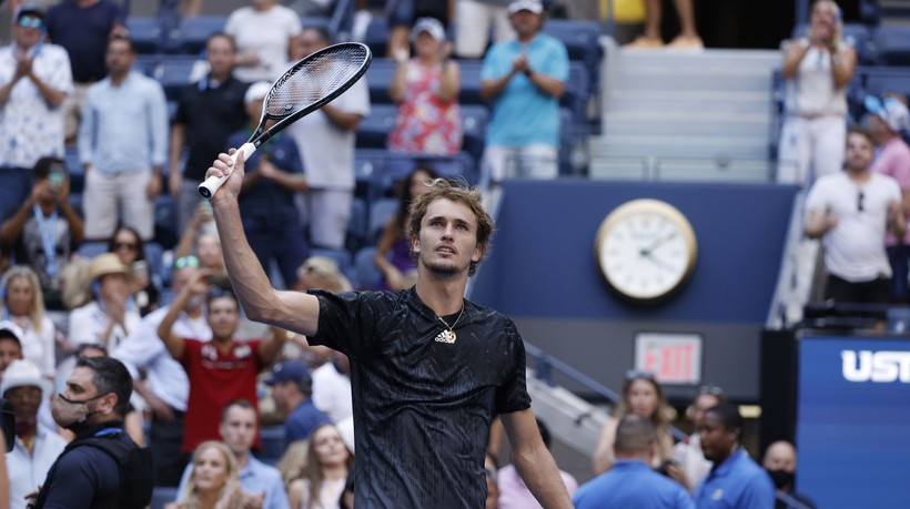 US Open: Zverev awansował do półfinału