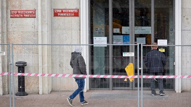 Koronawirus w pomorskim Urzędzie Marszałkowskim. Kolejni zakażeni pracownicy