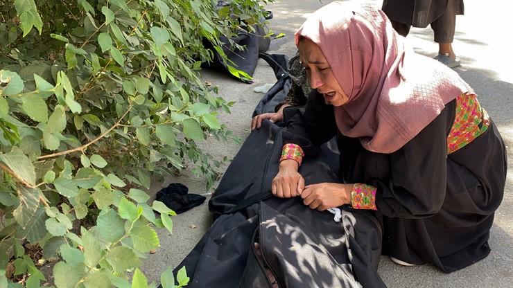 Kabul. W eksplozjach zginęło co najmniej 95 Afgańczyków i 13 żołnierzy USA