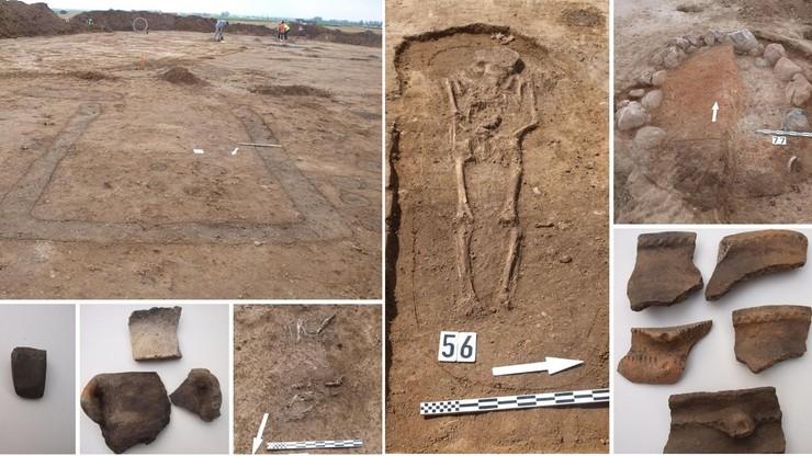 Ślady po osadzie sprzed 5 tys. lat na budowie obwodnicy