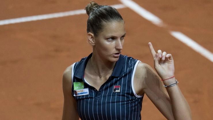 Pliskova wycofała się z turnieju WTA w Pradze