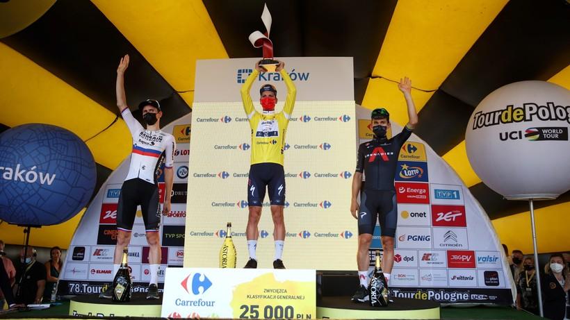 Tour de Pologne: Portugalczyk zwycięzcą wyścigu. Ostatni etap dla Holendra