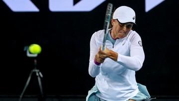 Australian Open: Świątek - Halep. Skrót ostatniego meczu (WIDEO)