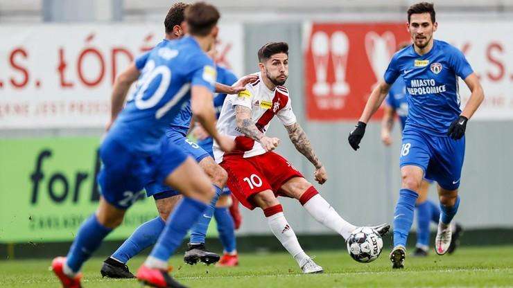 Fortuna 1 Liga: Trzy remisy w niedzielnych meczach. Osiem bramek i dwa hat-tricki w Łodzi