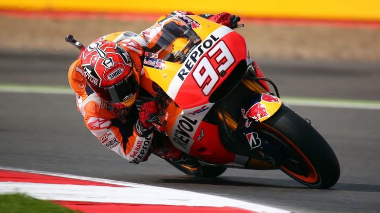 Marquez na pole position. Transmisja od 10.00 - kliknij i oglądaj!