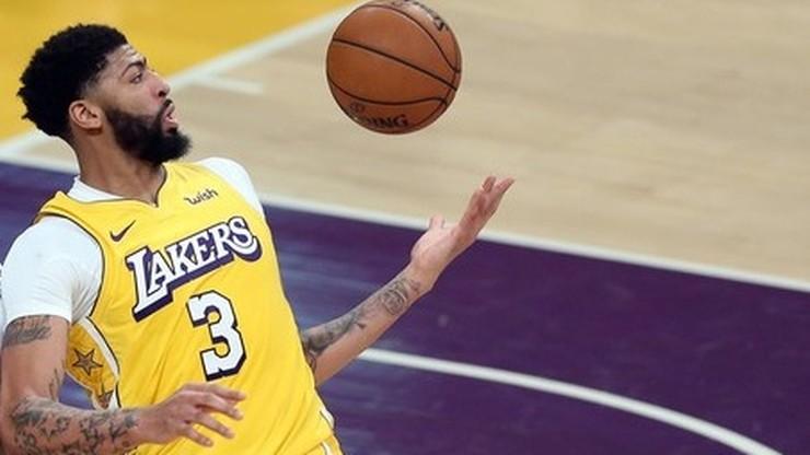 NBA: Kolejne zwycięstwo Los Angeles Lakers! Wicemistrz odprawiony z kwitkiem