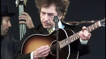 Bob Dylan laureatem tegorocznego literackiego Nobla