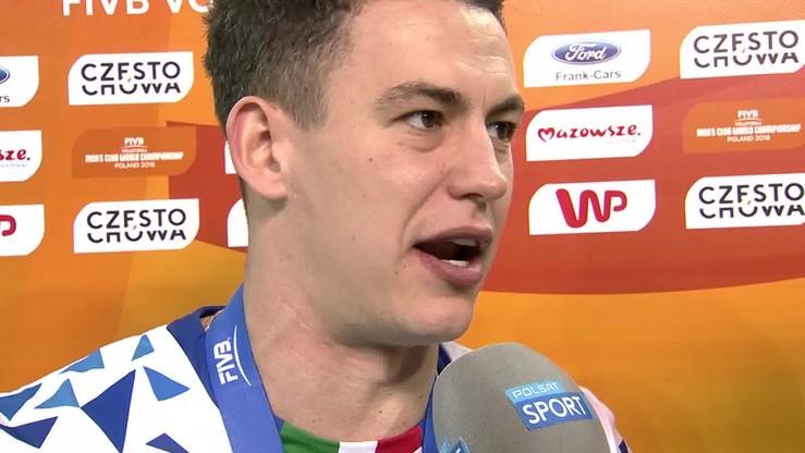 Grebennikov: Czujemy się niesamowicie po zwycięstwie nad Lube