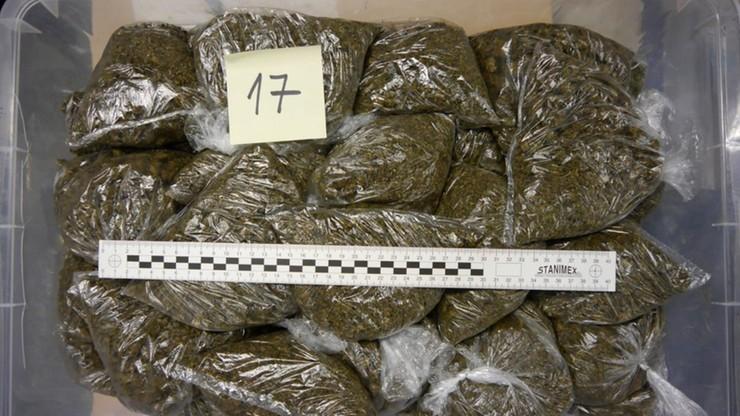 Katowice: 26-latek miał w mieszkaniu i piwnicy 75 kg narkotyków