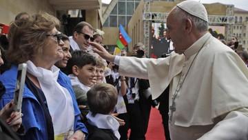 Papież apeluje o rozwiązanie konfliktów na Kaukazie