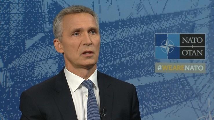 Szef NATO z dystansem o traktacie, za którym stoi laureat pokojowego Nobla