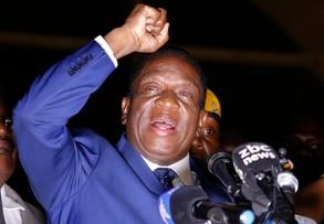 Nowy prezydent Zimbabwe wrócił do kraju. Gdy obiecał miejsca pracy, tłumy wiwatowały