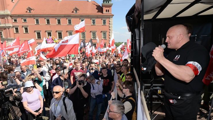 """""""Odwagi Polsko"""" marsz Narodowców i środowisk katolickich. """"Razem przeciwko Targowicy"""""""